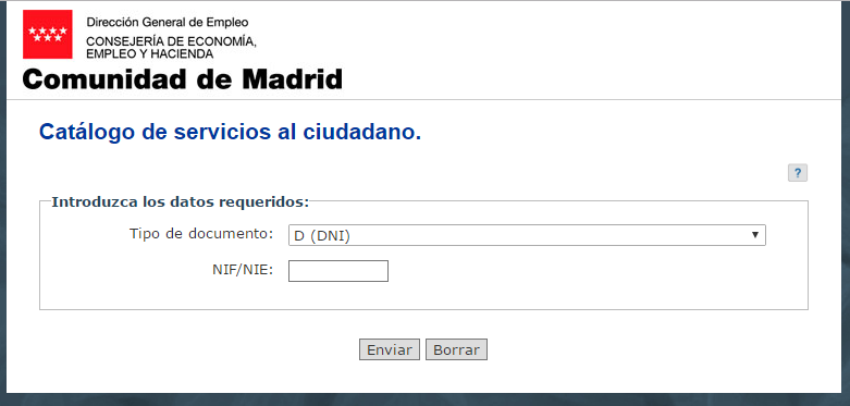 Sellar el paro en madrid gu a detallada actualizado 2018 for Oficina virtual paro